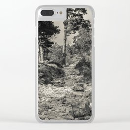 Roman road #1 Clear iPhone Case