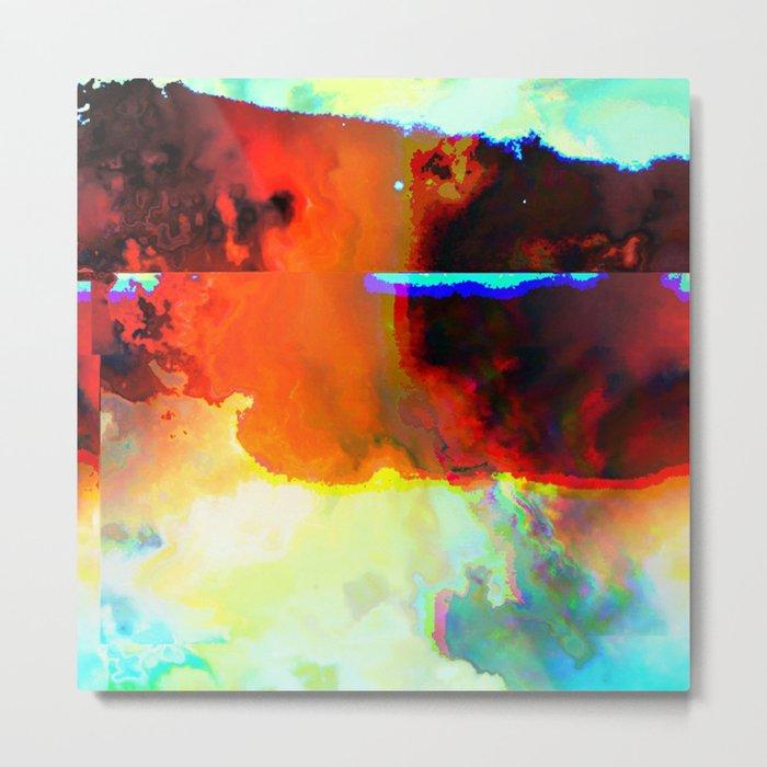 23-03-44 (Cloud Glitch) Metal Print