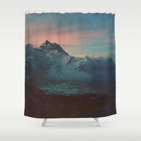 garden Shower Curtains featuring Garden by Daniel Montero