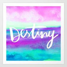 Destiny [Collaboration with Jacqueline Maldonado] Art Print
