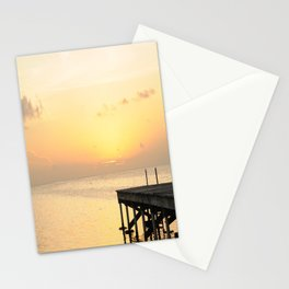 Sunset's in Belize Stationery Cards