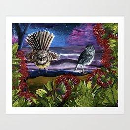 At Sunrise Art Print