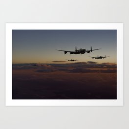 Lancaster - Mainstream Art Print