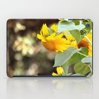 sunflowers iPad Cases featuring SUNFLOWERS :) by Teresa Chipperfield Studios