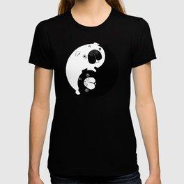 Yin Yang Pugs T-shirt