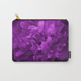 Peony In Ultra Violet Color #decor #society6 #buyart Carry-All Pouch