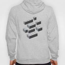 Building Blocks Pattern – Noir Hoody