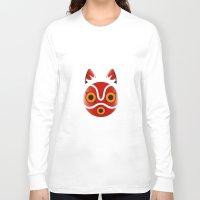 mononoke Long Sleeve T-shirts featuring Mononoke by Miss Phi