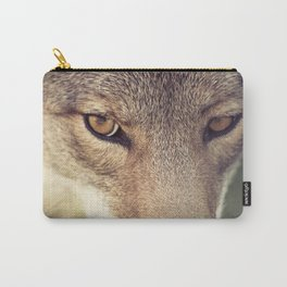 In the eyes of the Coyote Carry-All Pouch