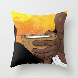 Find Balance. Throw Pillow