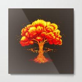 Nuclear Nature Metal Print