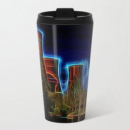 Digital Art Ironbridge Power Station Travel Mug