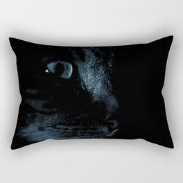 Cat at Night Rectangular Pillow