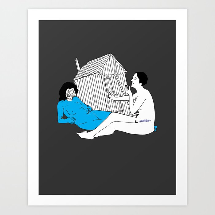"OMGWTFBBQ!: ""Hallucin Oasis"" Art Print"