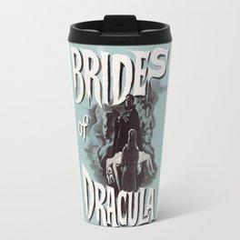 Brides of Dracula, vintage horror movie poster Travel Mug