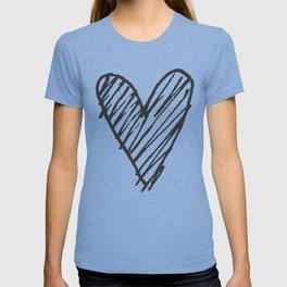 Ink hearts pattern 2 T-shirt