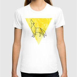 Origami Wolf T-shirt