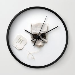 253. Tea Bag Skull Wall Clock