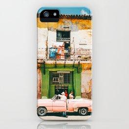 Summer in Cuba iPhone Case