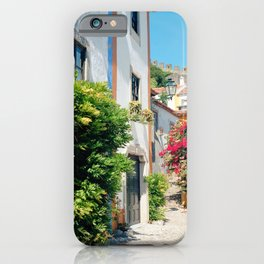 Portugal, Obidos (RR 182) Analog 6x6 odak Ektar 100 iPhone Case