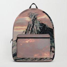 WAVE # 2 - sky Backpack