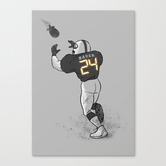 Number Twenty Four Canvas Print