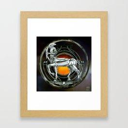 """Astrological Mechanism - Sagittarius"" Framed Art Print"
