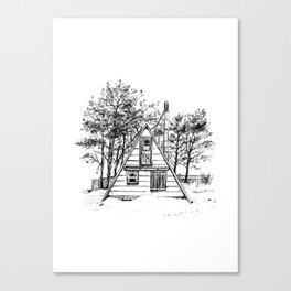 Cabin No. 2 Canvas Print