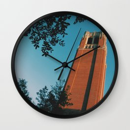 Swamp Sunsets Wall Clock
