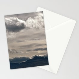 Clouds rolling over Stationery Cards