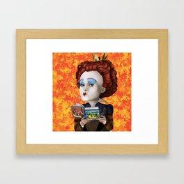 Queen of Hearts TLOS Framed Art Print