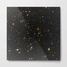 Hubble Space Telescope Field of Galaxies Metal Print