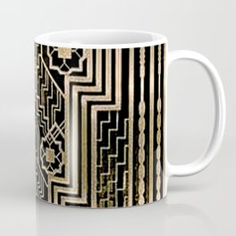 Art Nouveau Metallic design Coffee Mug