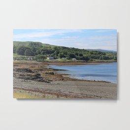 Pennyghael and Loch Scridain, Isle of Mull Metal Print
