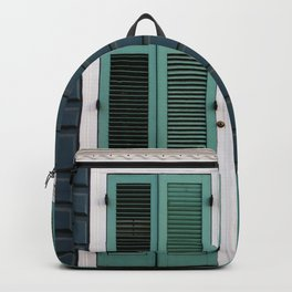 New Orleans Creole Cottage Backpack
