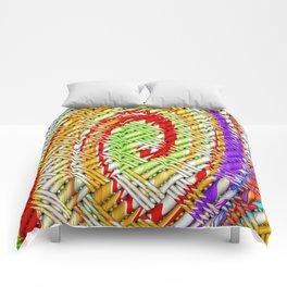 Lattice Spiral Comforters