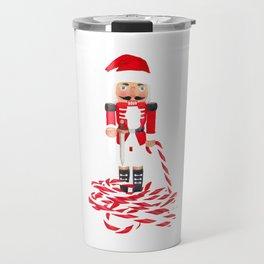 Nutcracker Cane Travel Mug