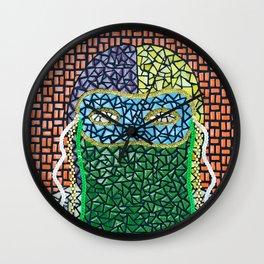 El Monocuco, Mascaras del Carnaval Wall Clock
