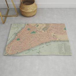 Vintage Map of Lower Manhattan (1776) Rug