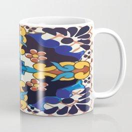 Colored Tile Mexican Talavera Coffee Mug