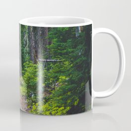 Green Forest Path (Color) Coffee Mug
