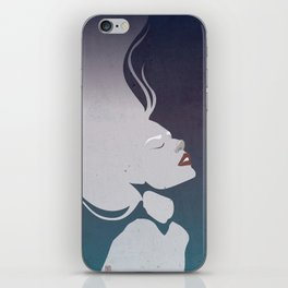 Floatinf Face iPhone Skin