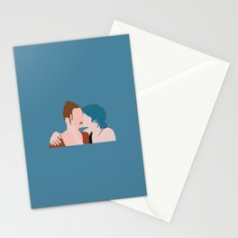 blue is the warmest color poster Stationery Cards