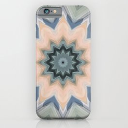 Beautiful Sage and Apricot by LH iPhone Case