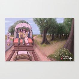 Caracol gitano Canvas Print