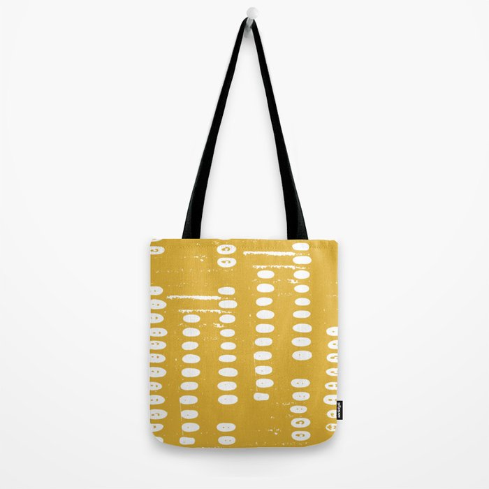 Stepping Stones, Goldenrod Yellow Tote Bag