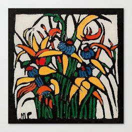 """Christmas Bulbs"" by Australian Artist Margaret Preston Canvas Print"