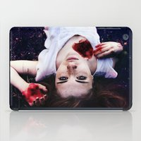 pain iPad Cases featuring Pain by Lídia Vives