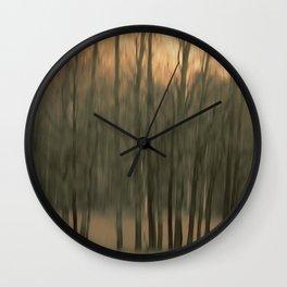 Country morning Wall Clock