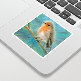 Robin Sticker